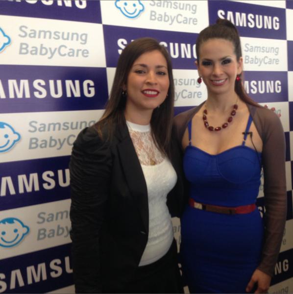 Sully Saenz otra mami feliz con BabyCare de Samsung