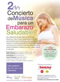 concierto de musica para embarazadas