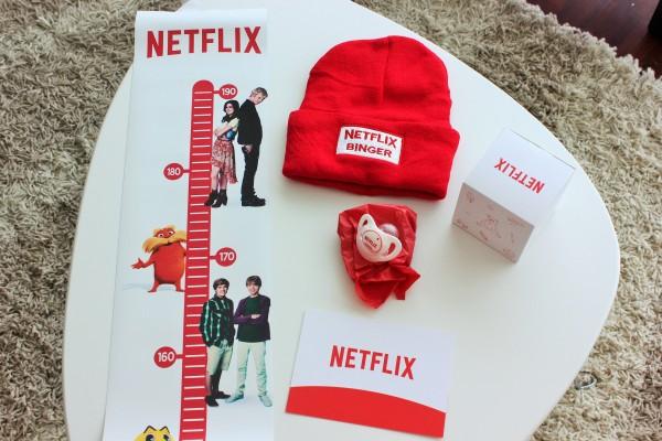 Kit Netflix para sorteo