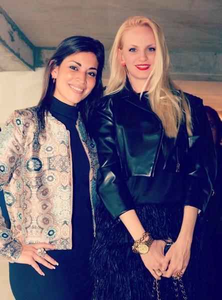 Con Sofía Achaval