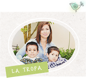 La Tropa: Mónica, Álvaro y Alejandro