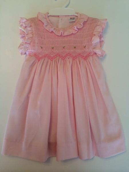 Baby Joy Vestido rosado
