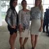 Con Laerke Skyum y Adriana Cachay
